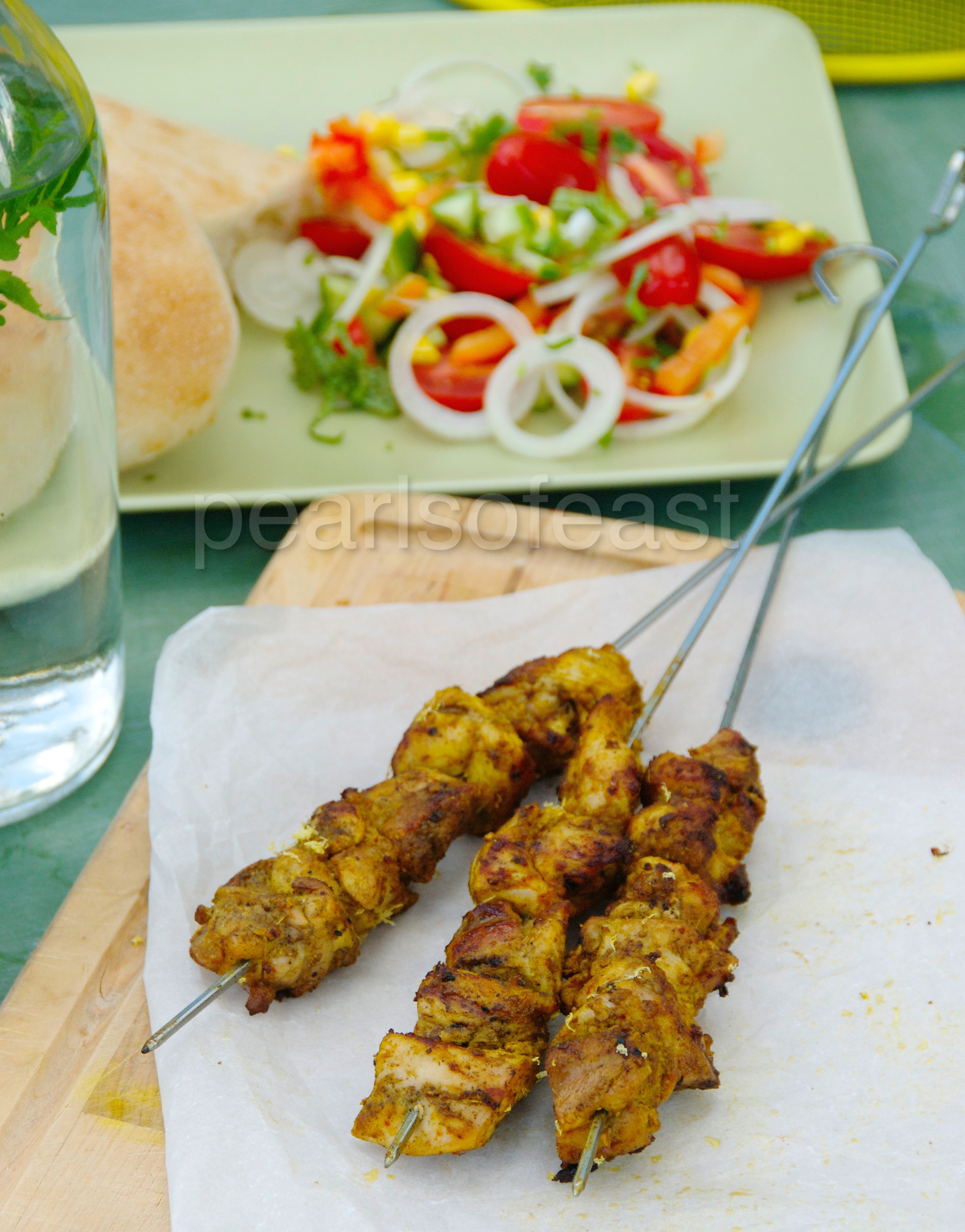 Chicken kababs