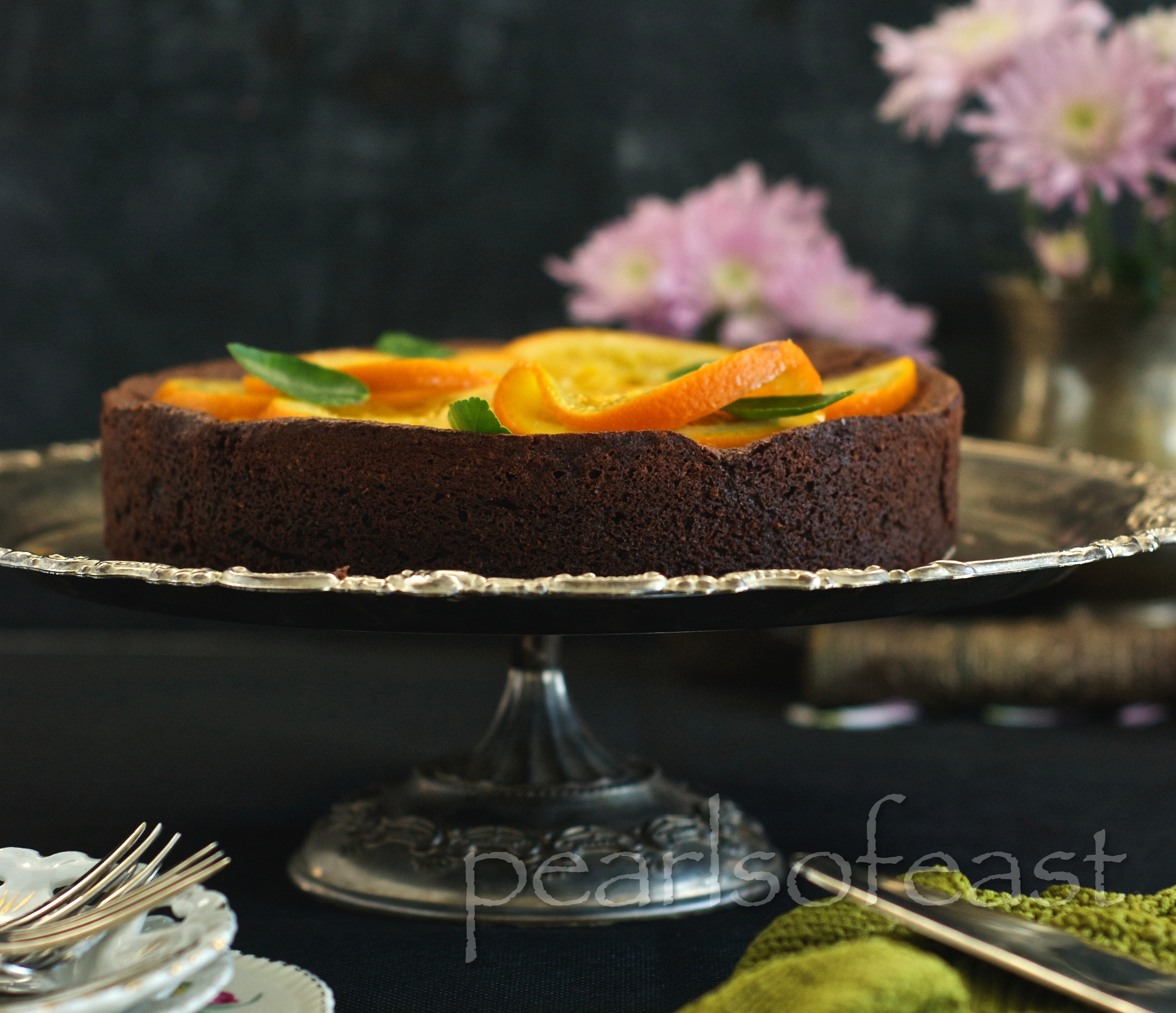Almond and Orange cake-1