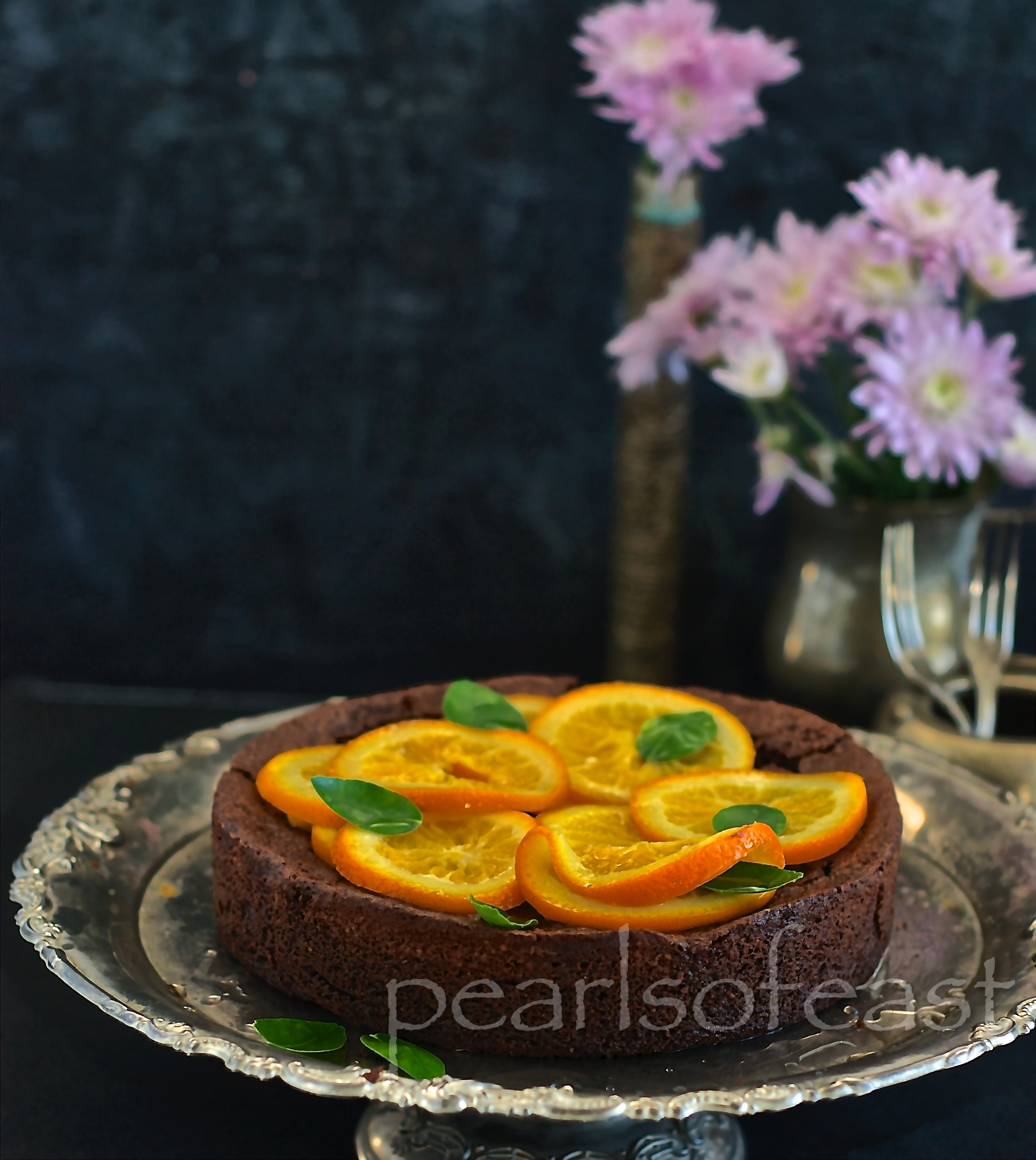 Almond and Orange cake-2