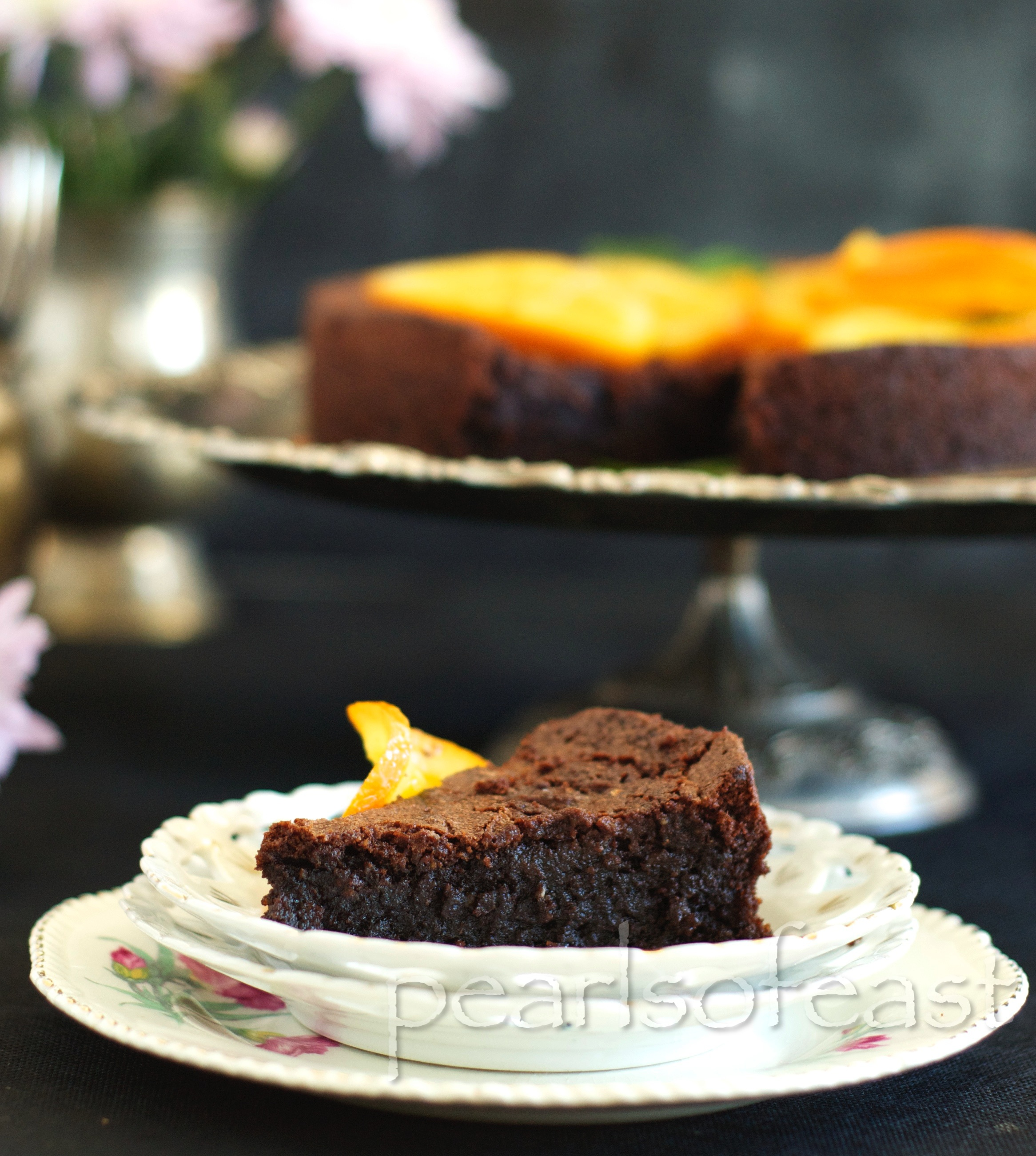 Almond and Orange cake-4