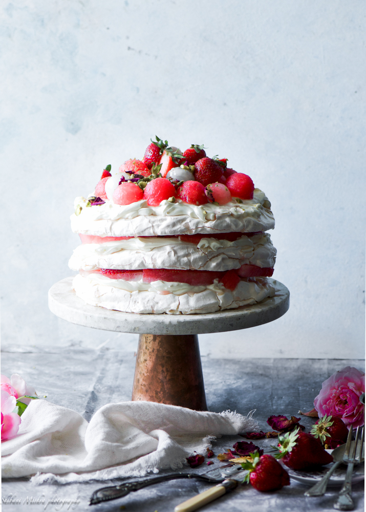 Rose water pavlova (3 of 8)