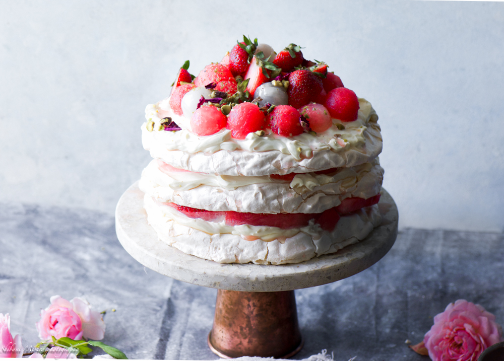 Rose water pavlova (5 of 8)