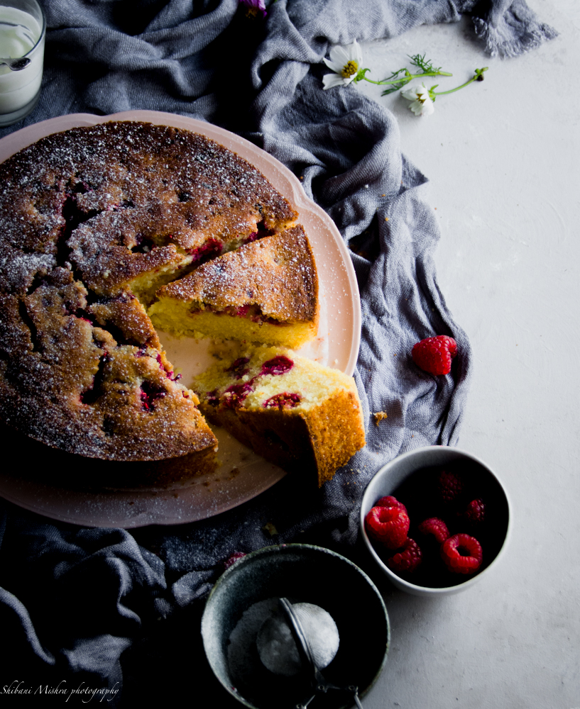 Rashberry and RIcotta cake (8 of 2)