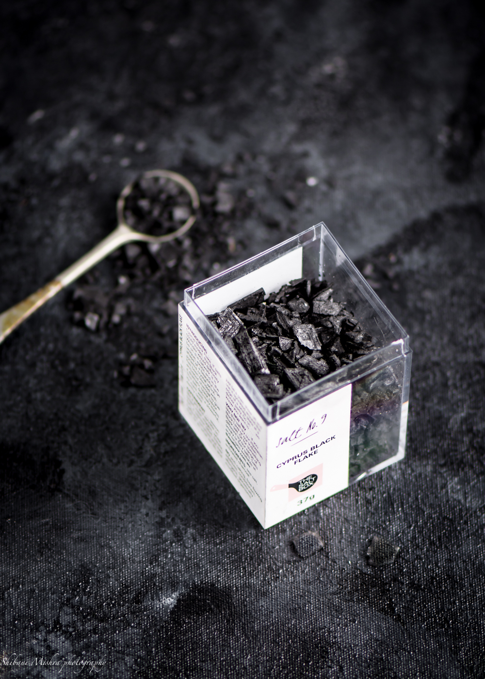 Cyprus Lava black salt