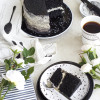 Black Velvet cake with Mascaporne frostings