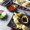 Chicken and vegetable dumplings from Scratch