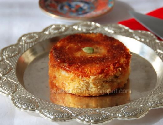 Chenna poda purely made of chenna with small amount suji (semolina) to bind. This is said to be the favorite dessert of Lord Jaganath.