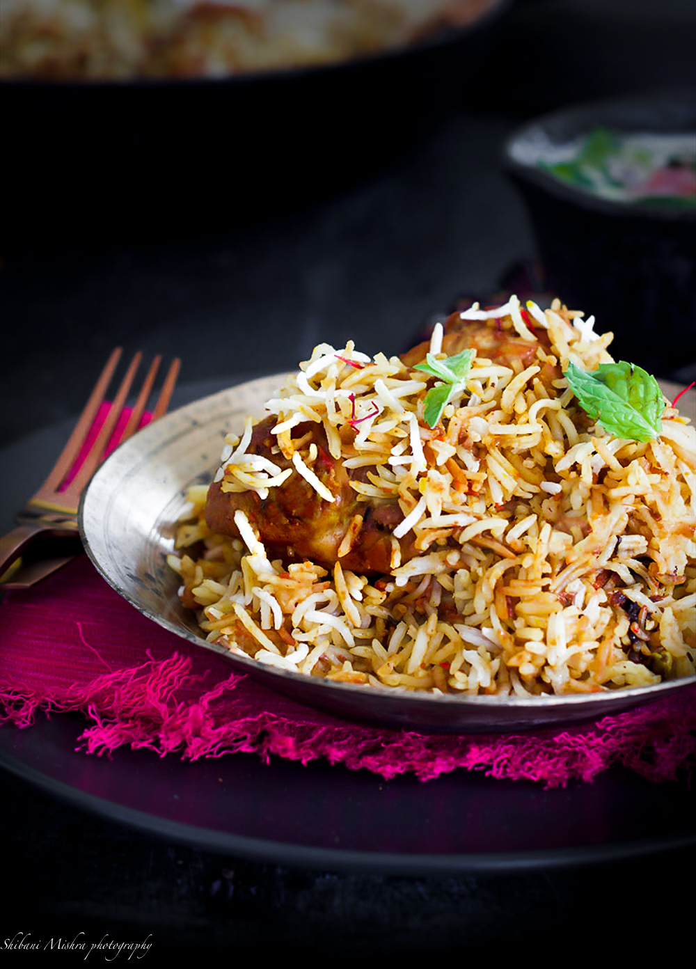 Honestly this chicken biryani, with its perfect balance of flavours, is one of my absolute favourite. This is a keepsake recipe.