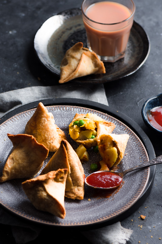 Samosa is king of the snacks in India, people not only from India admire this versatile snack but is also loved and enjoyed world wide too.