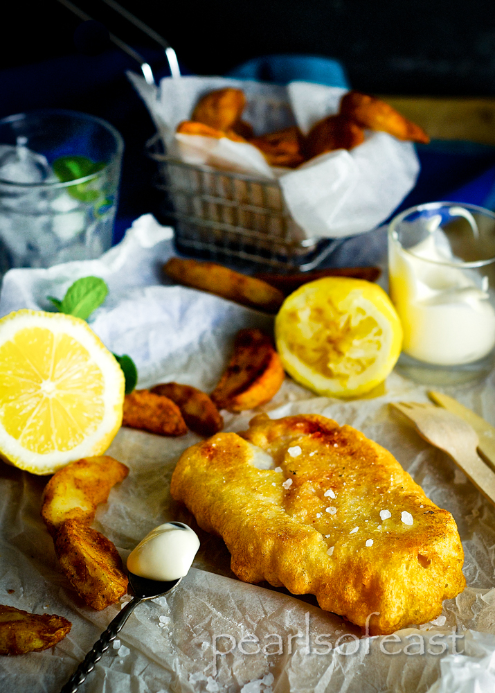 Looking for a Light and crispy beer battered fish, this easy coating is delicious on any white fish. Served with wedges and beer is sure to impress.