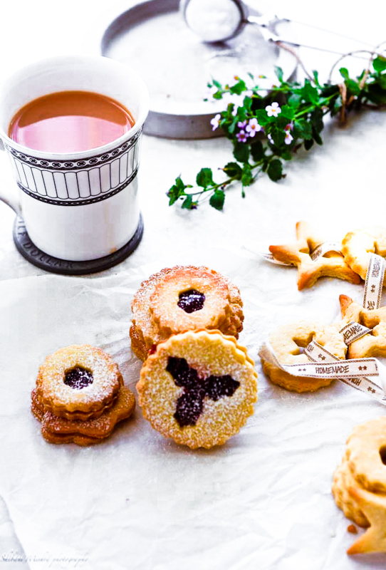 linzer cookies easy and delicious, loaded with jam and dusted with powdered sugar. A must-bake for holidays ,why not roll a batch....