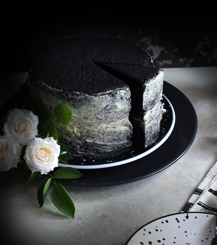 Black velvet cake is a result of my sheer imagination and results were amazing. The colour and tastes is absolutely worth trying.