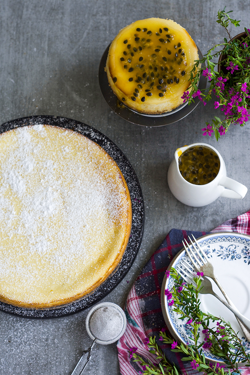 This fresh ricotta cheesecake is quite delicious because of the two different varieties of cheese are used to make this cake.