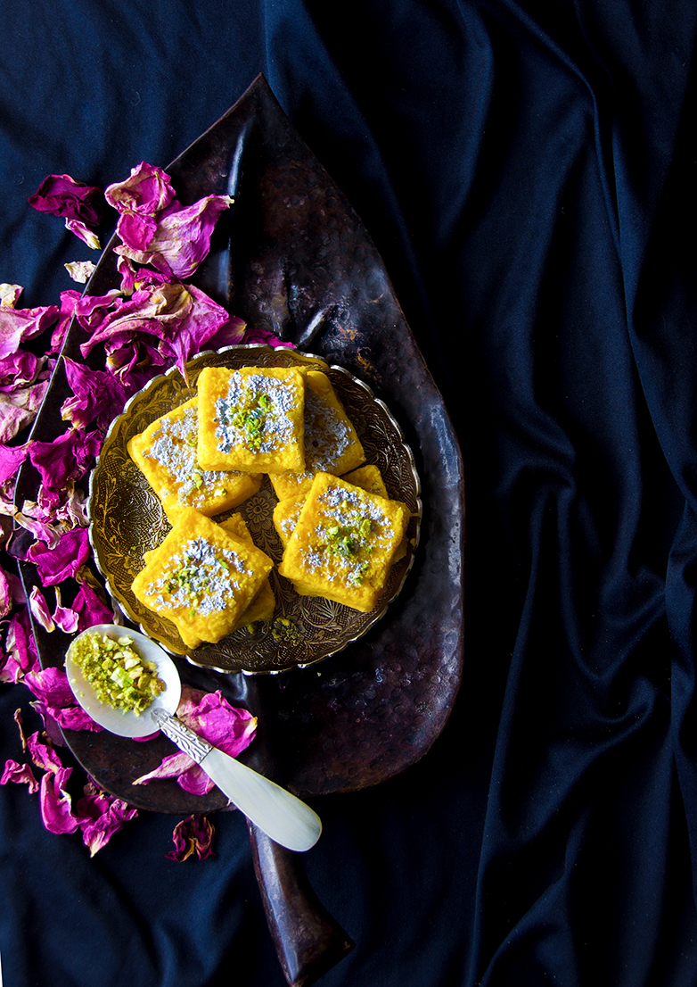 Pineapple and Coconut Barfi