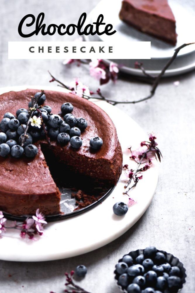 This fancy yet easy chocolate cheesecake that doesn't require much time whip up. It's up for you to enjoy and devour after diner.