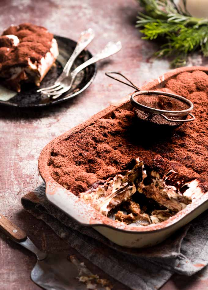 Super impressed with this light fluffy eggless tiramisu. I promise you that this will make your entertaining a cinch.Tag me if you make it