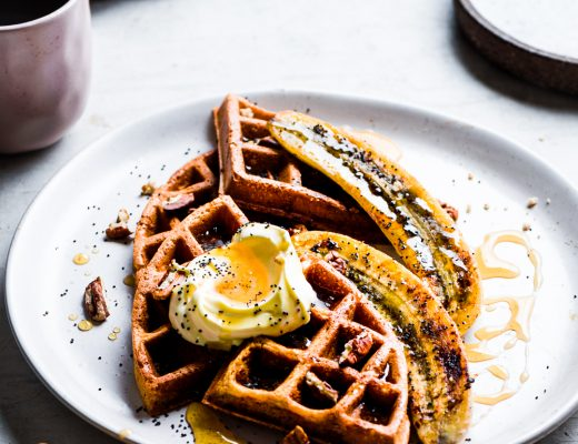 This spelt buttermilk waffles proves that waffles need not be necessarily unhealthy nor over sweet to be delicious. A perfect breakfast for a weekend.