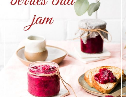 Plum, berry and chia jam sounds great right.. absolutely delicious and not only that it s easy to make too. Chia seeds and spices adds a great flavour too.